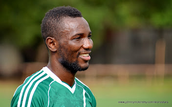 Photo: Mohammed 'Medo' Kamara  [Training Camp ahead of Leone Stars v Swaziland Game on 31 May 2014 (Pic: Darren McKinstry)]