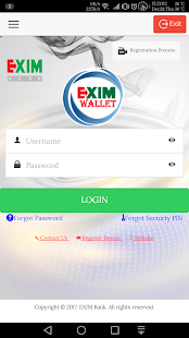 EXIM eWallet - náhled