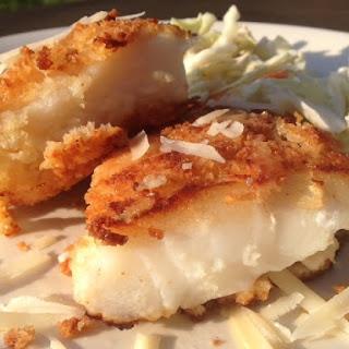 Parmesan and Panko Encrusted Cod