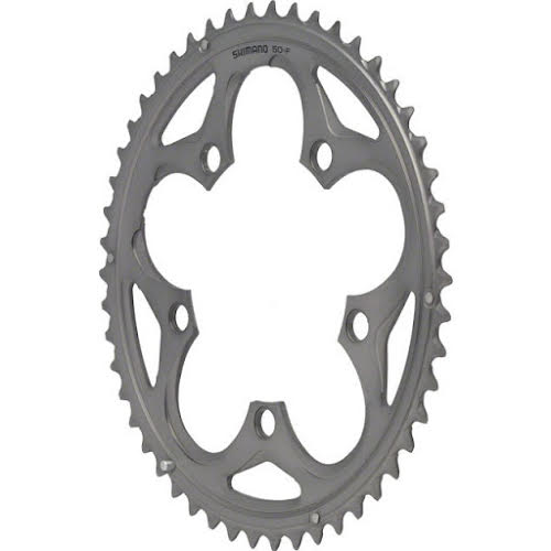 Shimano 105 5750 50t 110mm 10spd Compact Chainring Silver