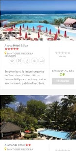 Booking Hôtel Ile La Réunion- screenshot thumbnail