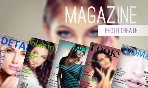 Magazine Photo Create