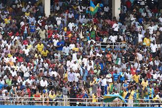 Photo: Amavubi fans filled the 30,000 capacity stadium [Rwanda Vs Ghana AFCON2017 Qualifier, 5 Sep 2015 in Kigali, Rwanda.  Photo © Darren McKinstry 2015