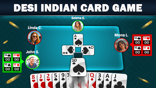 Mindi - Desi Indian Card Game Mendi with Mendikot screenshots 1