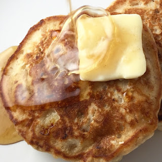 Banana Walnut Pancakes.