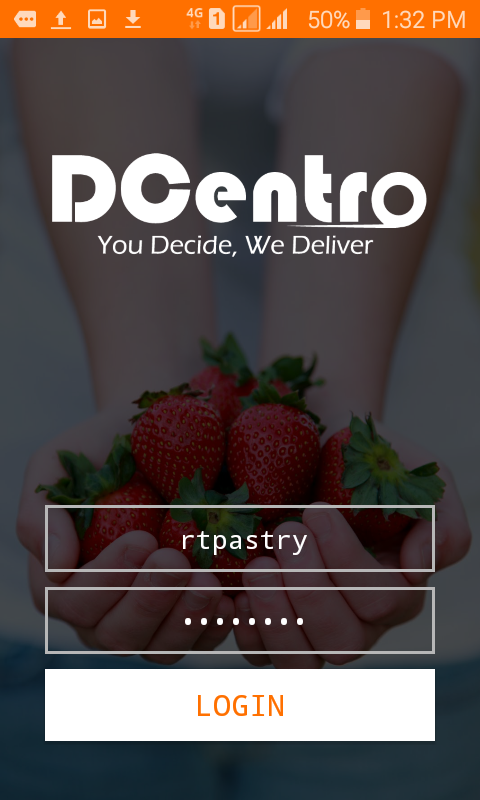 DCentro Driver- screenshot