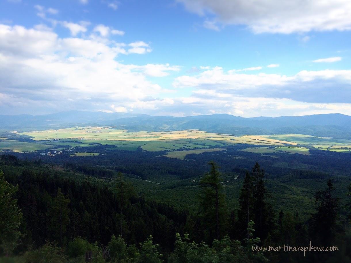 Pohľad na Nízke Tatry, Slovakia