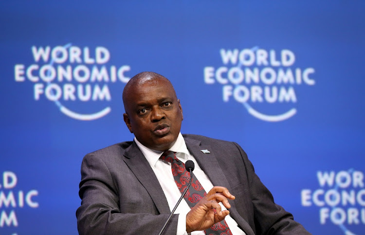 Botswana's President Mokgweetsi Masisi has put himself in quarantine after a staff member tested positive for Covid-19. File photo.
