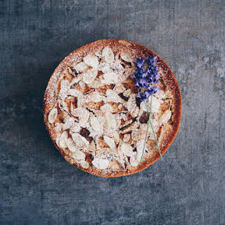Vegan Apple & Almond Cake.