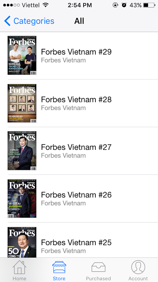 Forbes Vietnam- screenshot