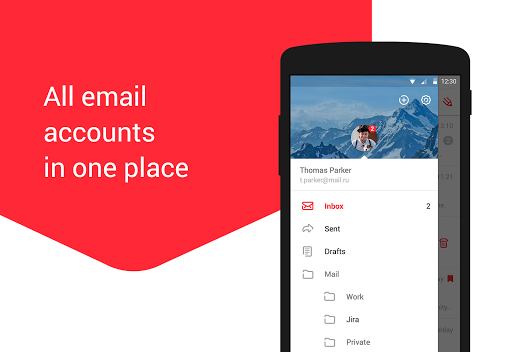 myMail – Email for Hotmail, Gmail and Outlook Mail 9.4.0.26826 screenshots 2