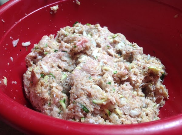 Mix together in bowl and shape into desired size meat balls. These meat Balls...