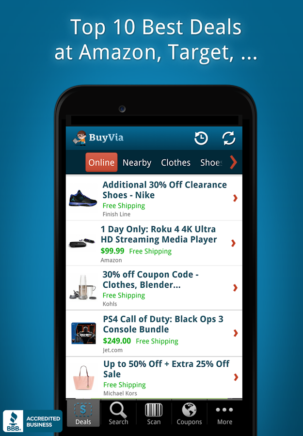 BuyVia - Best Shopping Deals- screenshot