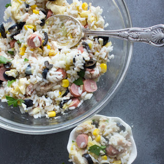 Easy Mediterranean Rice Salad