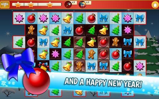 Christmas Crush Holiday Swapper Candy Match 3 Game 1.35 screenshots 24