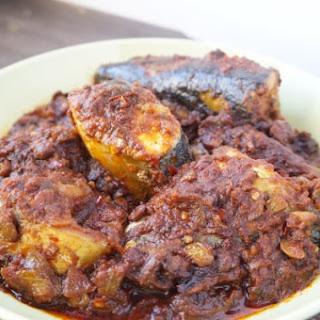 Yoruba Style Mackerel Stew.