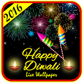 Happy Diwali Live Wallpaper HD