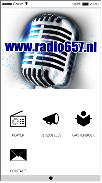 Radio 657- screenshot