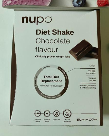 Recenze Vivantis: Dieta NUPO - shake s příchutí čokoláda