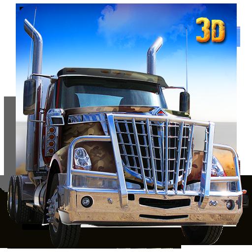 陆军卡车停车场3D 模擬 App LOGO-硬是要APP
