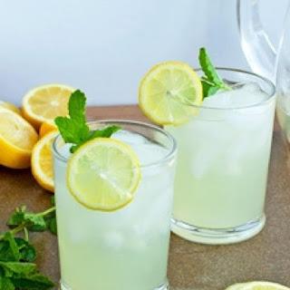 Homemade Lemonade Concentrate.
