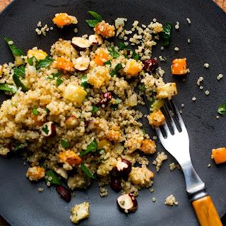 Squash and Celeriac Quinoa Stuffing