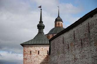 Photo: Стены Кирилово-Белозерского монастыря