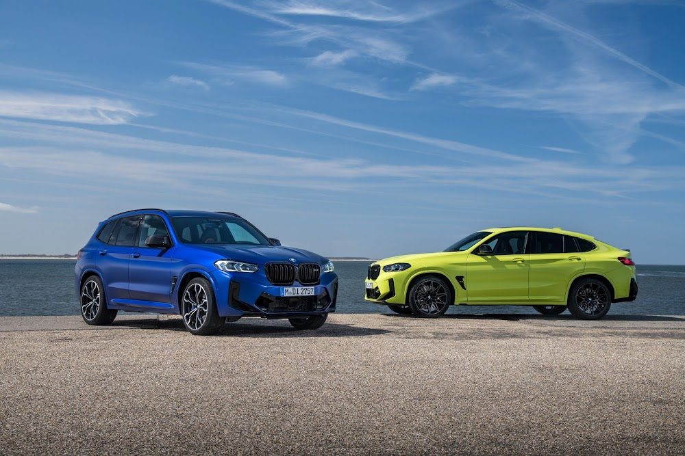 2021 BMW X3 M and X4 M Competition models get an overhaul - TimesLIVE