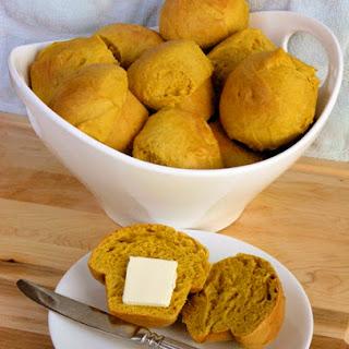 Pumpkin Yeast Rolls