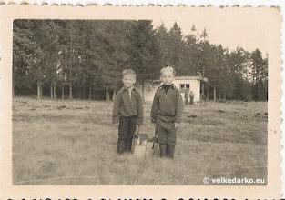 Photo: Původní chata vč. majitele ing.V. Beránka