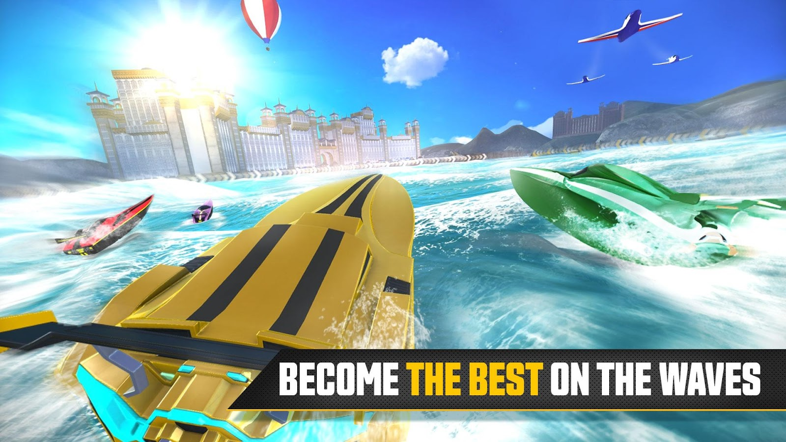 Driver Speedboat Paradise- screenshot