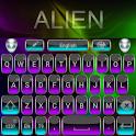 Alien Go Keyboard Theme icon