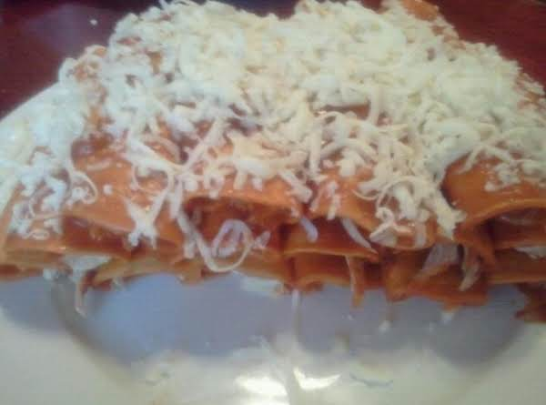 Enchiladas In Red Sause Recipe