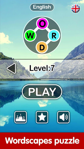 Word Cross - Wordscapes Puzzle:A Word Connect Game 1.1 screenshots 1