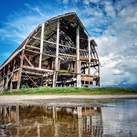 Coming undone  by Todd Reynolds - Buildings & Architecture Decaying & Abandoned