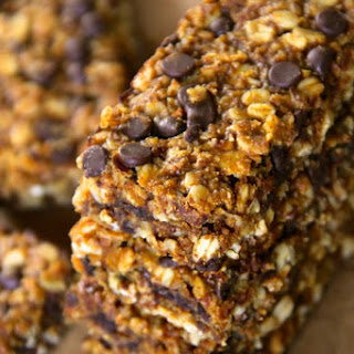Soft and Chewy Pumpkin Granola Bars