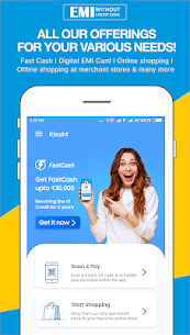Kissht – EMI without credit card – 0% EMI Finance App Latest Version Download For Android and iPhone 1