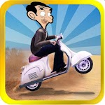 Mr-Bean Moto : silk road Ride
