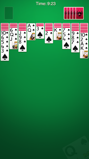 Spider Solitaire 2.9.496 screenshots 1