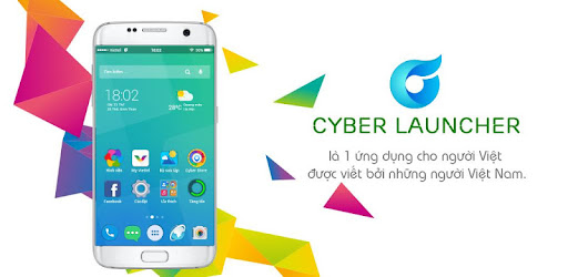 Cyber Launcher app (apk) free download for Android/PC/Windows screenshot