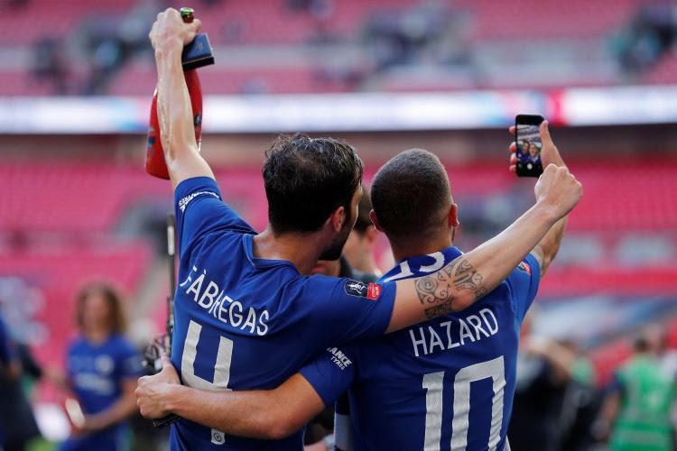 Hazard remercie Fabregas à sa manière
