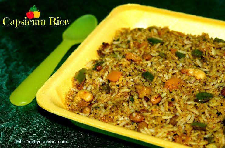 Capsicum Masala Rice