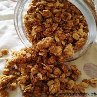 Gluten Free Peanut Butter Granola.