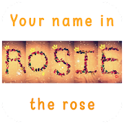 Your name in the rose - the latest version icon