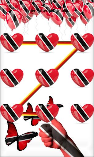 Trinidad Tobago Pattern Lock