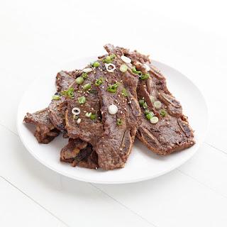 Korean BBQ Short Ribs.