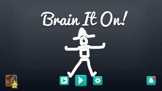 Brain It On! - Physics Puzzles