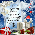 Good Morning And Night Images icon
