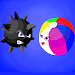 Jump fly Ball - A run fly ball go to action icon