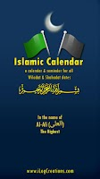 Screenshot of Islamic Calendar